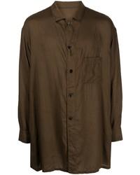 Yohji Yamamoto Long Chest Pocket Shirt