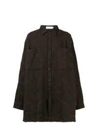 Faith Connexion Oversized Textured Shirt