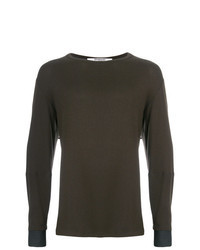 Dark Brown Long Sleeve T-Shirt