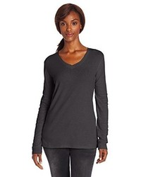 Calumet long sleeve vneck t shirt medium 86206