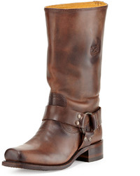 Dark brown mid calf boots original 10270372