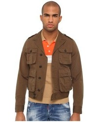 Military chic bomber medium 65830
