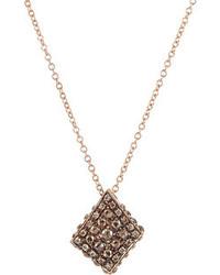 Fabrizio Riva Kite Shaped Pendant Necklace