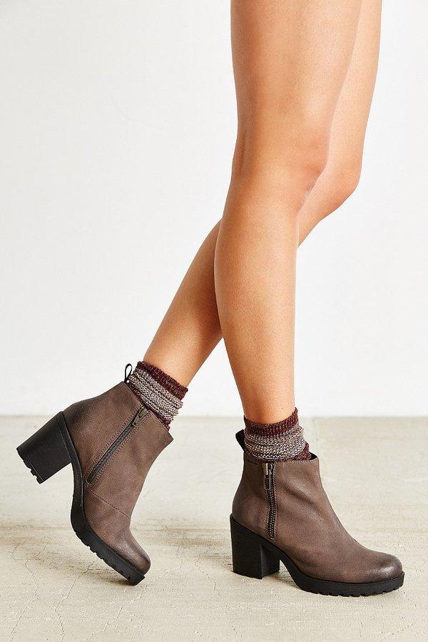 Vagabond Nubuck Grace Double Zip Boot