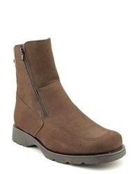 Brodie banff brown wide nubuck leather casual boots medium 99243
