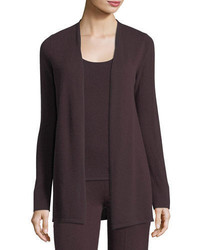 Neiman Marcus Cashmere Collection Cashmere Open Front Cardigan