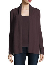 Cashmere collection open cashmere cardigan medium 5262140