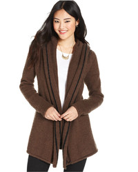 Silver Jeans Juniors Hooded Aztec Cardigan