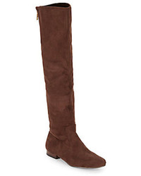 Dark brown over the knee boots original 4421982
