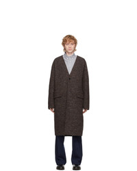 Kenzo Brown Wool Coat