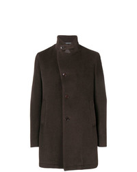 Tagliatore Concealed Front Coat