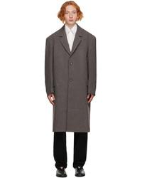 Lemaire Grey Wool Suit Coat
