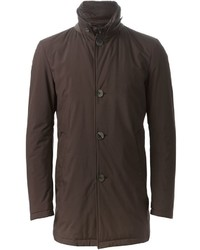 Herno Single Breasted Overcoat