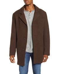 Pendleton Iconic Manhattan Melange Wool Blend Coat