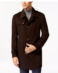 Kenneth Cole New York Kenneth Cole Reaction Elmore Slim Fit Tic Overcoat