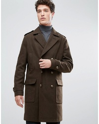 Stanley Adams Longer Length Military Wool Coat