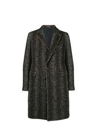 Tagliatore Mesh Tweed Coat