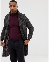 Harry Brown Premium Wool Blend Fleck Cocoon Coat
