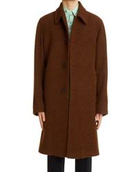 Dries Van Noten Rovey Alpaca Wool Coat