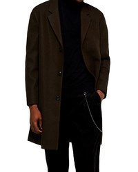 Topman Single Breasted Classic Fit Coat