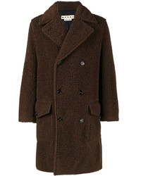 Marni Teddy Bear Double Breasted Coat