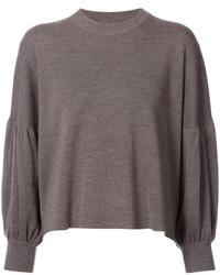 Dark Brown Oversized Sweater