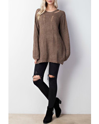 Mittoshop distressed oversized sweater medium 6870257