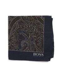 BOSS Paisley Pocket Square