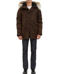 Dark Brown Parka