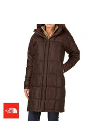 The north face metropolis parka jacket brownie brown medium 114516