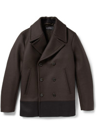 Dark Brown Pea Coat