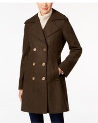 Michl michl kors double breasted military peacoat medium 842936