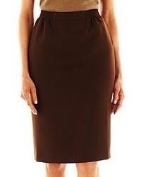 Dark Brown Pencil Skirts for Women   Women's Fashion