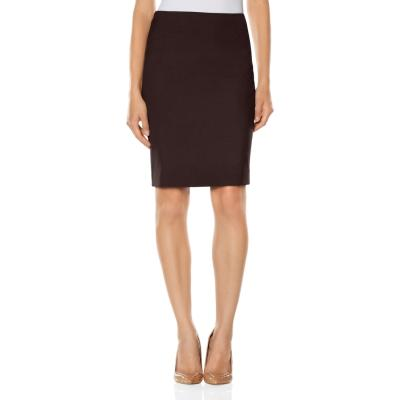 The Limited Collection Angled Inset Pencil Skirt Brown 10 | Where ...