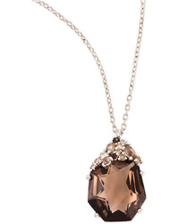 Alexis Bittar Fine Smoky Quartz Diamond Pendant Necklace