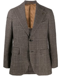 Gabriele Pasini Check Print Tailored Blazer