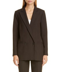 Ganni Check Suiting Blazer