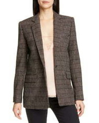 IRO Houli Plaid Blazer