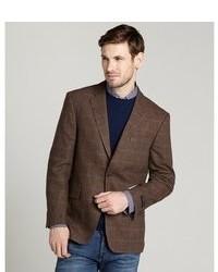 Men's Dark Brown Blazers by Tommy Hilfiger | Men's Fashion