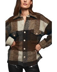 Anine Bing Bobbi Flannel Shirt Jacket