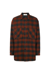 Faith Connexion Plaid Loose Shirt
