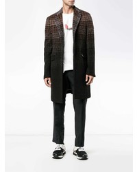 Etro Gradient Check Coat