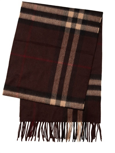 ... Plaid Scarves Burberry Giant Check Pattern Cashmere Scarf ... 347aa58f314ee