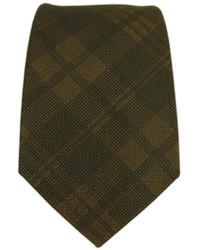 The Tie Bar Mood Plaid Brown