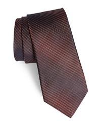 John Varvatos Star USA Plaid Silk Tie