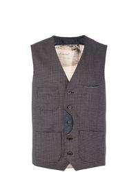Al Duca D'Aosta 1902 Checked Waistcoat