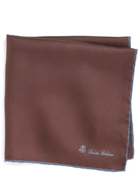 Brooks Brothers Silk Pocket Square