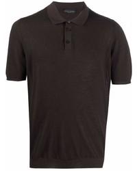 Roberto Collina Short Sleeve Cotton Polo Shirt