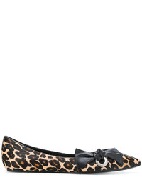 Marc Jacobs Printed Ballerina Flats