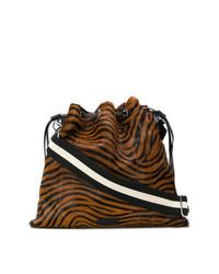 Sonia Rykiel Le Flore Zebra Print Bag